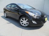 2013 Black Hyundai Elantra Limited #85066708