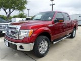2013 Ruby Red Metallic Ford F150 XLT SuperCrew 4x4 #85066392