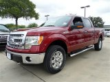 2013 Ruby Red Metallic Ford F150 XLT SuperCrew 4x4 #85066389