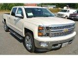 2014 White Diamond Tricoat Chevrolet Silverado 1500 LTZ Crew Cab 4x4 #85066867