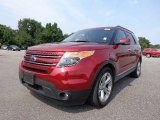 2013 Ruby Red Metallic Ford Explorer Limited #85066382