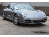 2007 Meteor Grey Metallic Porsche 911 Carrera Coupe #85066960