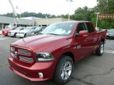 2014 Ram 1500 Deep Cherry Red Crystal Pearl