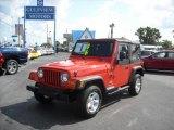 2006 Impact Orange Jeep Wrangler X 4x4 #8488137