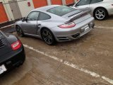 2012 Platinum Silver Metallic Porsche 911 Turbo S Coupe #85066749