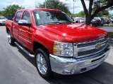 2013 Victory Red Chevrolet Silverado 1500 LT Crew Cab 4x4 #85120438