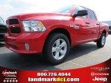 2014 Flame Red Ram 1500 Express Crew Cab 4x4 #85119862