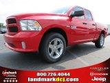 2014 Flame Red Ram 1500 Express Quad Cab #85119861