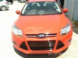 2012 Race Red Ford Focus SEL Sedan #85119760