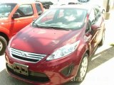 2013 Ruby Red Ford Fiesta SE Sedan #85119759