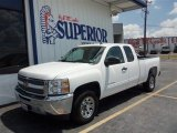 2013 Summit White Chevrolet Silverado 1500 LT Extended Cab #85119748