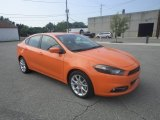 2013 Header Orange Dodge Dart SXT #85120414