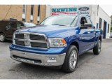 2011 Deep Water Blue Pearl Dodge Ram 1500 Big Horn Quad Cab 4x4 #85120309