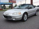 2002 Brilliant Silver Metallic Chrysler Sebring Limited Convertible #85120381