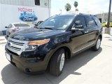 2014 Tuxedo Black Ford Explorer XLT #85119695