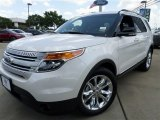 2014 White Platinum Ford Explorer XLT #85119694