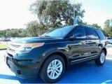 2013 Green Gem Metallic Ford Explorer XLT #85119796