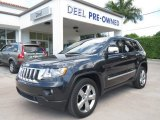 2012 Maximum Steel Metallic Jeep Grand Cherokee Overland #85119601