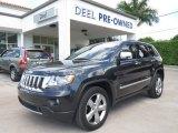 2012 Maximum Steel Metallic Jeep Grand Cherokee Overland #85119601