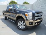 2014 Blue Jeans Metallic Ford F250 Super Duty King Ranch Crew Cab 4x4 #85120043