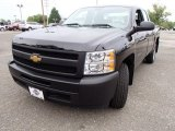 2012 Black Chevrolet Silverado 1500 Work Truck Extended Cab #85119581