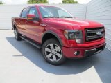 2013 Ruby Red Metallic Ford F150 FX4 SuperCrew 4x4 #85120025