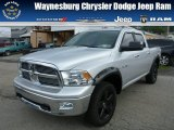 2009 Bright Silver Metallic Dodge Ram 1500 Big Horn Edition Crew Cab 4x4 #85120006