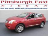 2012 Cayenne Red Nissan Rogue S AWD #85120127