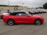 2014 Red Hot Chevrolet Camaro LT/RS Convertible #85119910
