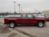 2014 Deep Ruby Metallic Chevrolet Silverado 1500 WT Double Cab 4x4 #85119901
