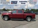 2014 Sonoma Red Metallic GMC Sierra 1500 SLE Crew Cab 4x4 #85184553