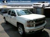 2014 White Diamond Tricoat Chevrolet Silverado 1500 LT Z71 Crew Cab 4x4 #85184818