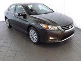 2013 Hematite Metallic Honda Accord EX-L V6 Sedan #85184278