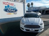 2013 Oxford White Ford Fusion S #85184352