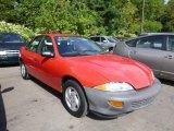1999 Bright Red Chevrolet Cavalier Sedan #85184535