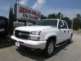 2006 Summit White Chevrolet Silverado 1500 LT Crew Cab 4x4 #85184716