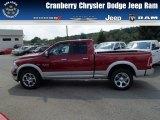 2014 Deep Cherry Red Crystal Pearl Ram 1500 Laramie Quad Cab 4x4 #85184428