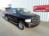 2004 Black Dodge Ram 1500 SLT Quad Cab 4x4 #85184879