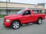 2004 Flame Red Dodge Ram 1500 SLT Regular Cab #85184800