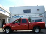 2006 Inferno Red Crystal Pearl Dodge Ram 1500 SLT Quad Cab 4x4 #8482168