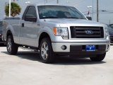 2010 Ingot Silver Metallic Ford F150 STX Regular Cab #85184797
