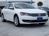 2014 Candy White Volkswagen Passat 2.5L SE #85184795