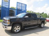 2014 Black Chevrolet Silverado 1500 LT Z71 Double Cab 4x4 #85184408