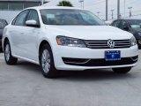 2014 Candy White Volkswagen Passat 2.5L Wolfsburg Edition #85184793