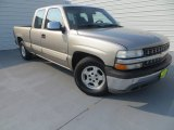 2000 Light Pewter Metallic Chevrolet Silverado 1500 LS Extended Cab #85184609