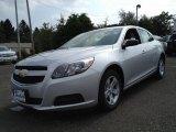2013 Silver Ice Metallic Chevrolet Malibu LS #85184481