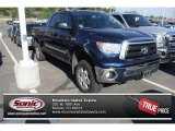 2010 Nautical Blue Metallic Toyota Tundra Double Cab 4x4 #85184239