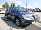 2013 Twilight Blue Metallic Honda CR-V LX AWD #85184765