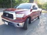 2008 Radiant Red Toyota Tundra SR5 Double Cab 4x4 #85184303