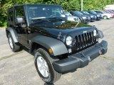 2014 Jeep Wrangler Black